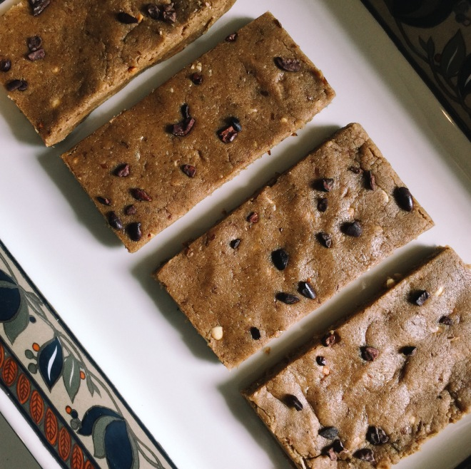 Plant based protein bar recipe