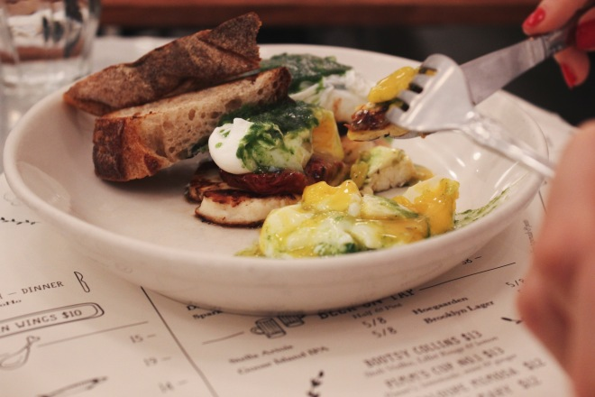 A review of eating brunch at Jack's Wife Frida in Soho, NYC.