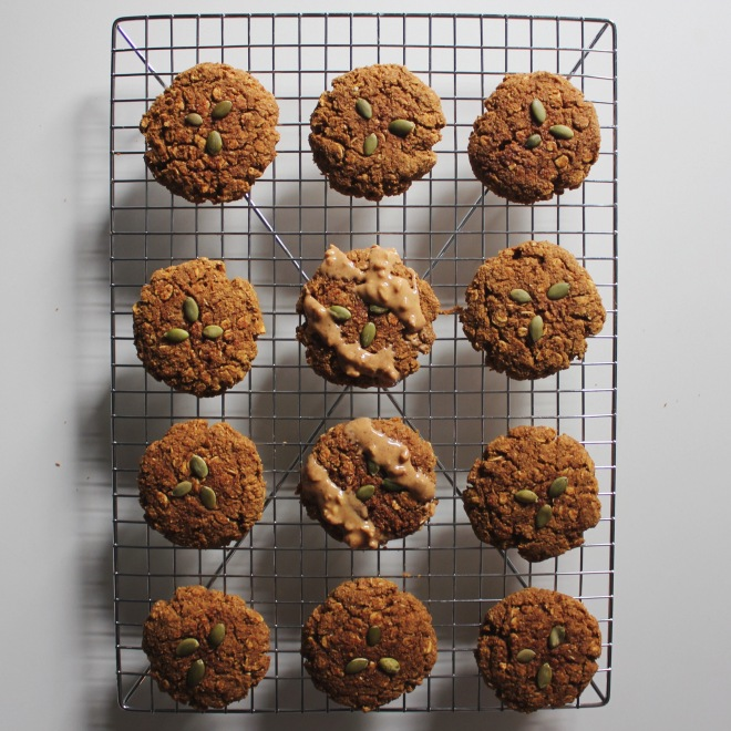 Healthy, Pumpking Breakfast Cookies