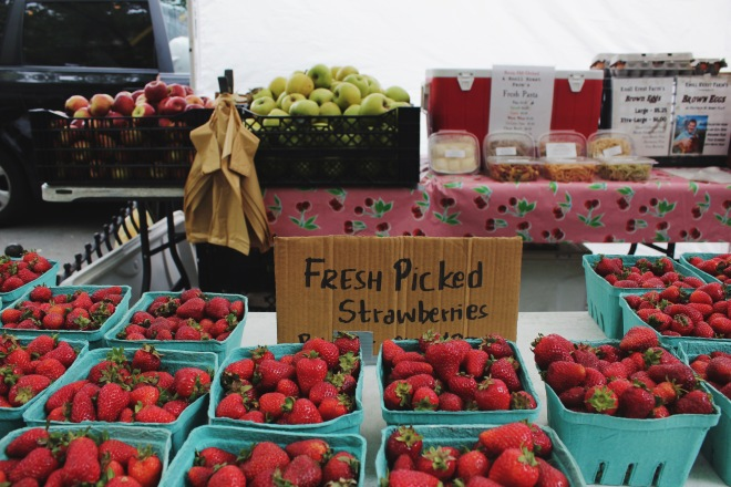 Exploring Prospect Park South and the Brooklyn Farmer's market